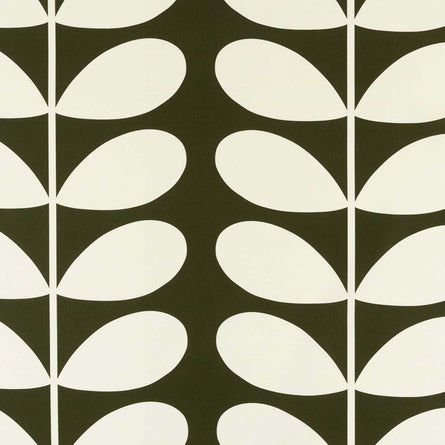 Orla Kiely Giant Stem Fabric, Khaki