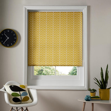 Orla Kiely Ready Made Roller Blind, Linear Stem Dandelion