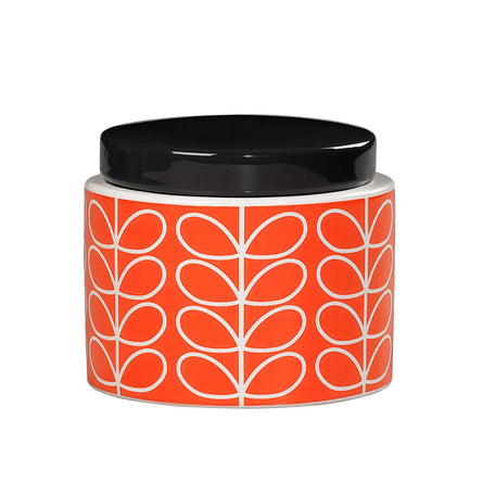 Orla Kiely Linear Stem Small Storage Jar