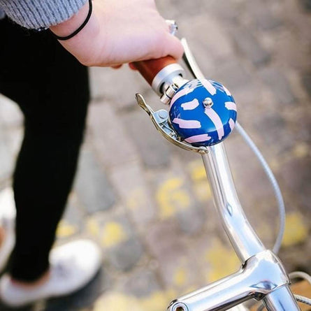 Pretty Useful Tools Bicycle Bell, Blue Lagoon