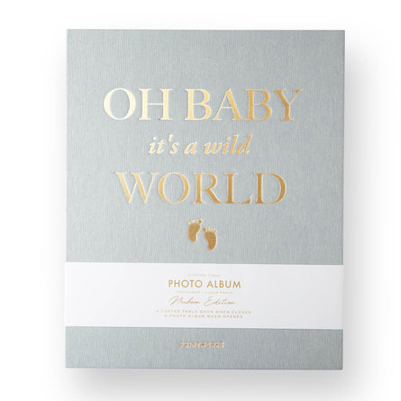 Printworks Photo Album, Baby Its a Wild World, Large