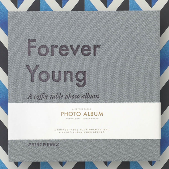 Printworks Photo Album, Forever Young Small