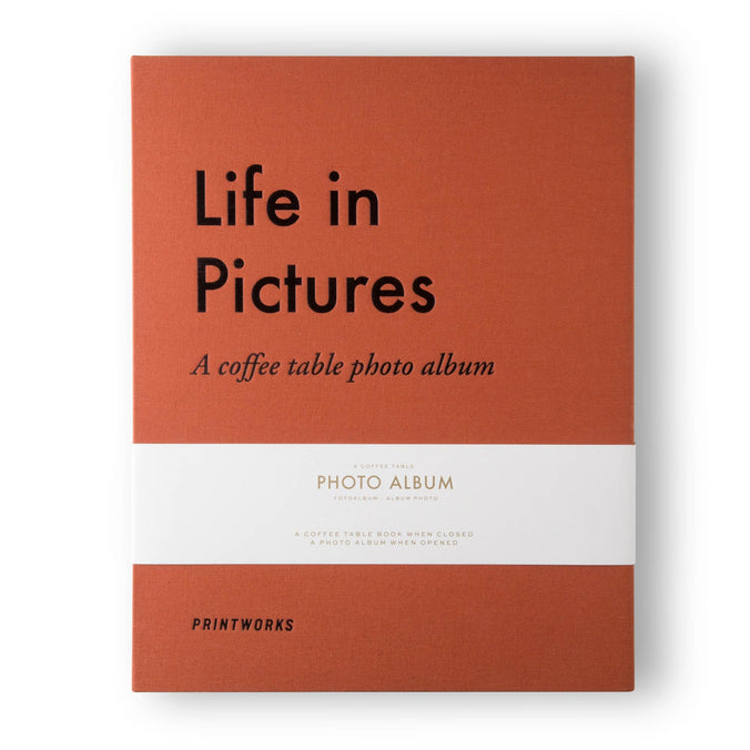 Printworks Photo Album, Life In Pictures Large