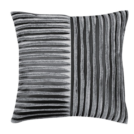 Pad Concept Ridges Satin Cushion with Insert, 45x45cm