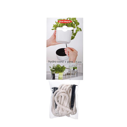 Mepal Herb Pot Cotton Cord & Pin, 5 Pieces