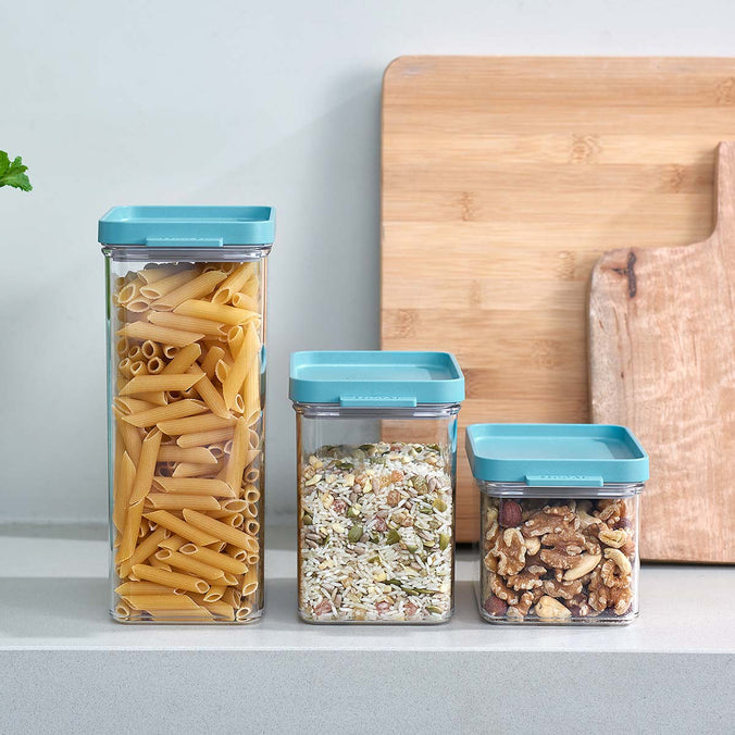 Mepal Omnia Kitchen Storage Container, Set of 3