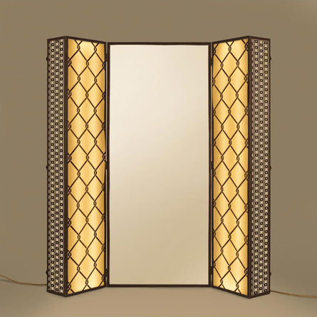 Seletti Lighting Trunk 74x40cm h175cm, Trunk with Lighting and Mirror