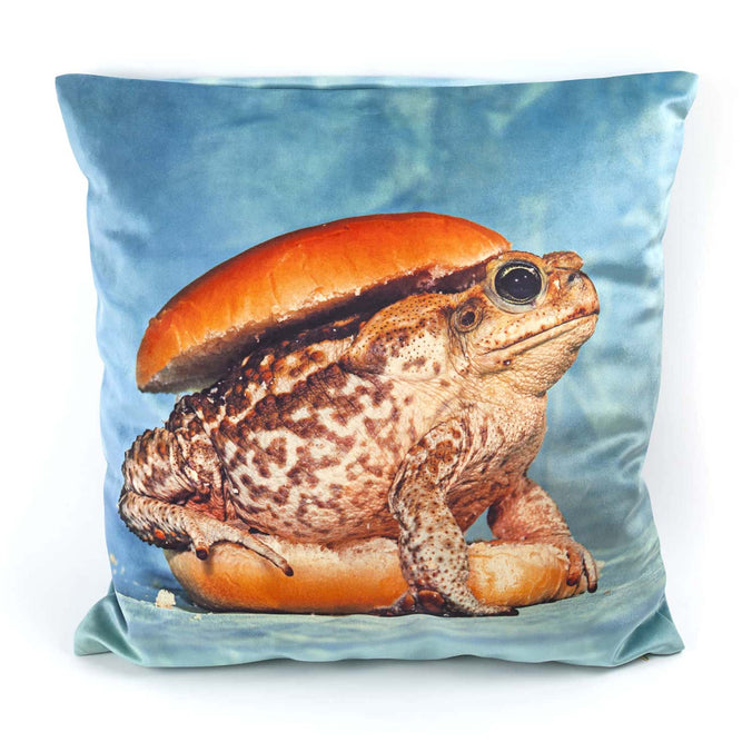 Seletti Wears Toiletpaper Cushion Cover, Toad
