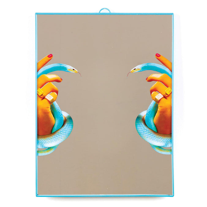 Seletti Wears Toiletpaper Mirror Big, Hands with Snakes