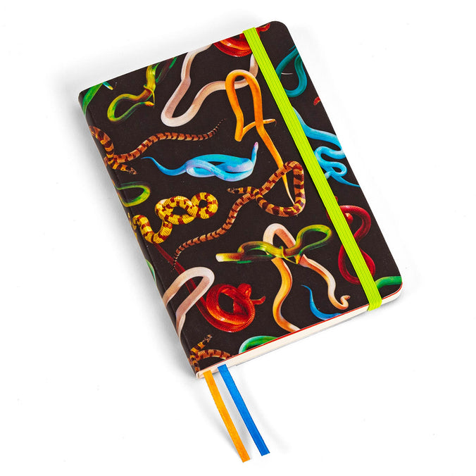 Seletti Wears Toiletpaper Notebook, Snakes