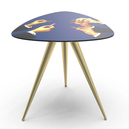 Seletti Wears Toiletpaper Side Table, Lipsticks