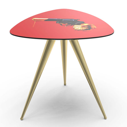 Seletti Wears Toiletpaper Side Table, Revolver