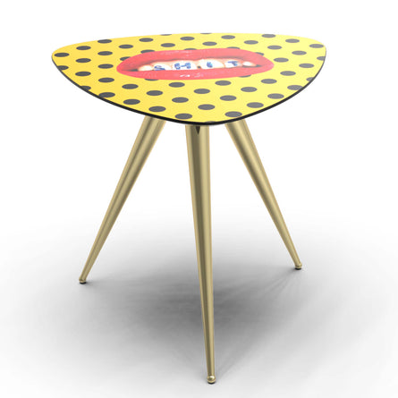 Seletti Wears Toiletpaper Side Table, Shit