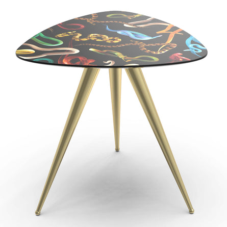Seletti Wears Toiletpaper Side Table, Snake