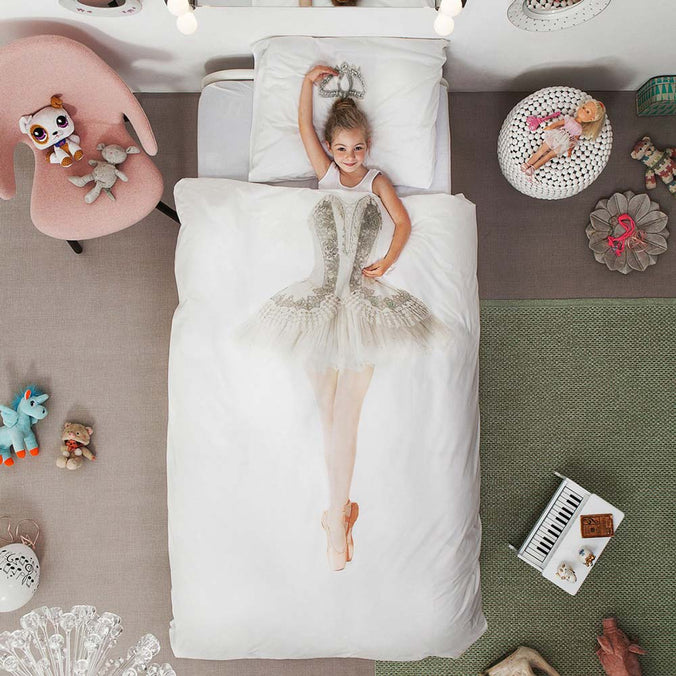 Snurk Ballerina Duvet Set, Single 135x200cm