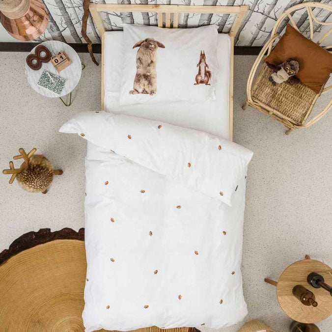 Snurk Furry Friends Duvet Set