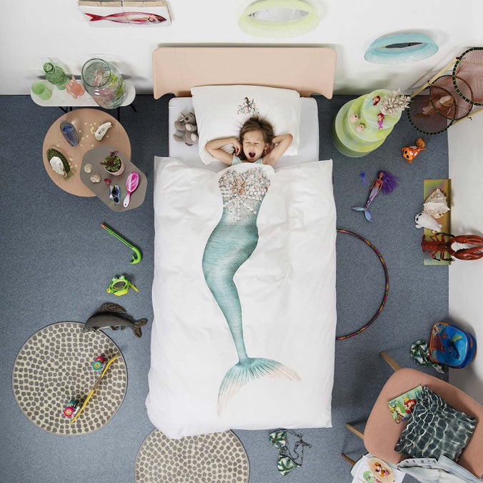 Snurk Mermaid Duvet Set