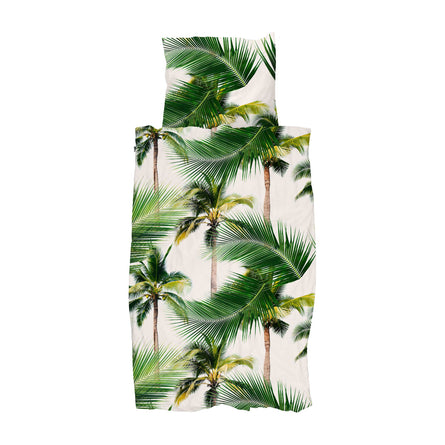 Snurk Palm Beach Duvet Set, Single 135x200cm