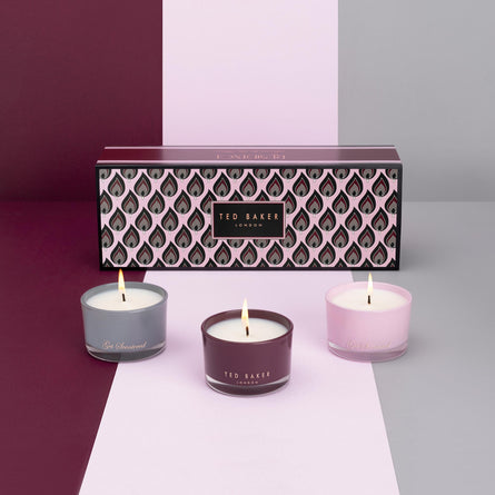 Ted Baker Residence Trio Candle Collection