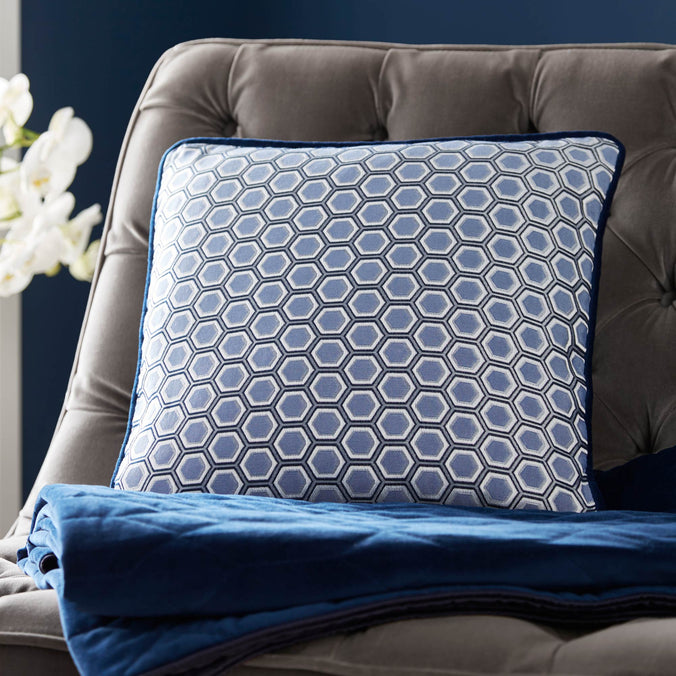Tess Daly Hexagon Square Cushion, 43x43cm