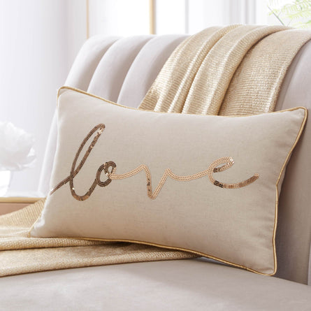 Tess Daly Love Boudoir Cushion, 50x30cm