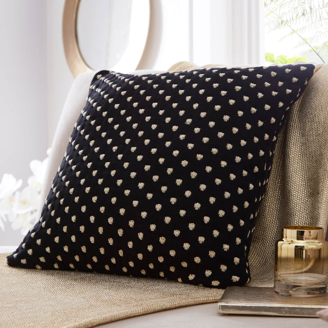Tess Daly Polka Knit Cushion, 50x50cm