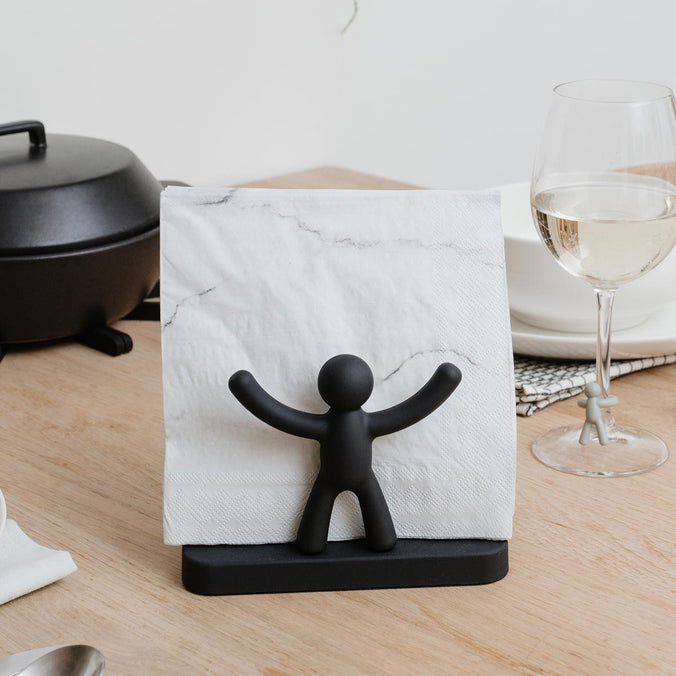 Umbra Buddy Napkin Holder, Black