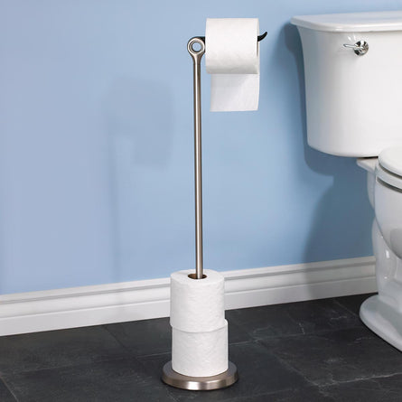 Umbra Tucan Toilet Paper Stand, Nickel
