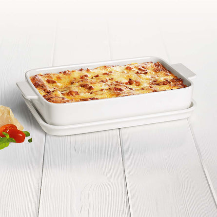 Villeroy & Boch Pasta Passion Large Lasagne Dish with Lid, 4-6 Serving