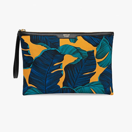 Wouf Night Clutch Bag, Satin Barbados