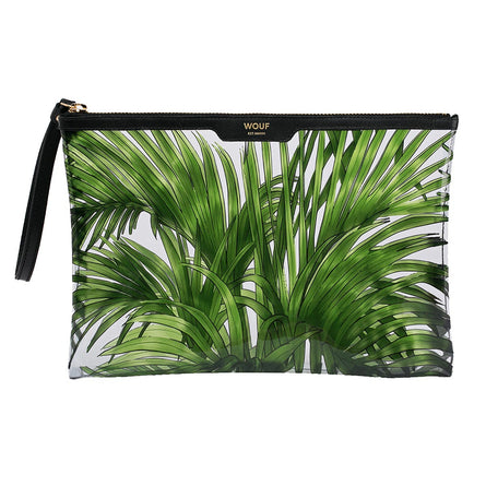Wouf Night Clutch Bag, Vinyl Tropicana