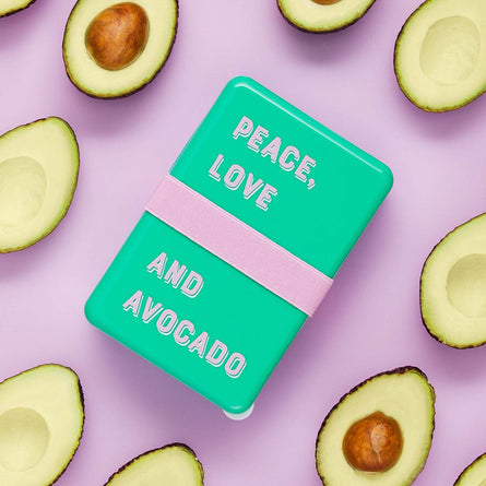 Yes Studio Lunch Box, Peace, Love and Avocado