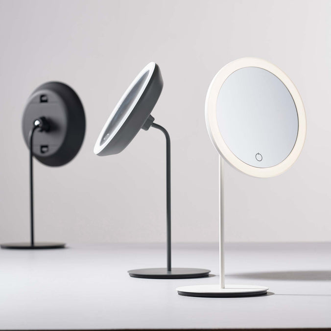 Zone Denmark Table Mirror with Magnifying Light