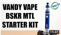 Vaping with Vic Vandy Vape Berserker MTL Starter Kit Review