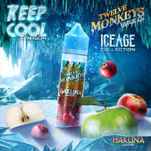 12 Monkeys - Ice Age Series - HAKUNA ICE -  60ml