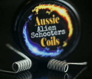 Aussie Coils - 3 Core Alien Schooters Set of x2 Coils