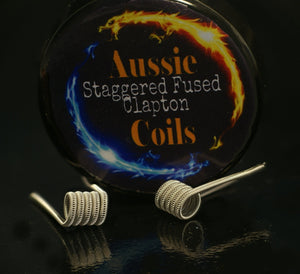 Aussie Coils - Staggered Fused Claptons (SFC) x2 Coils