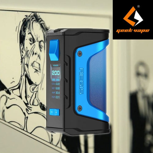 GeekVape Aegis Legend 200w TC Box Mod - Light Blue - Limited Edition
