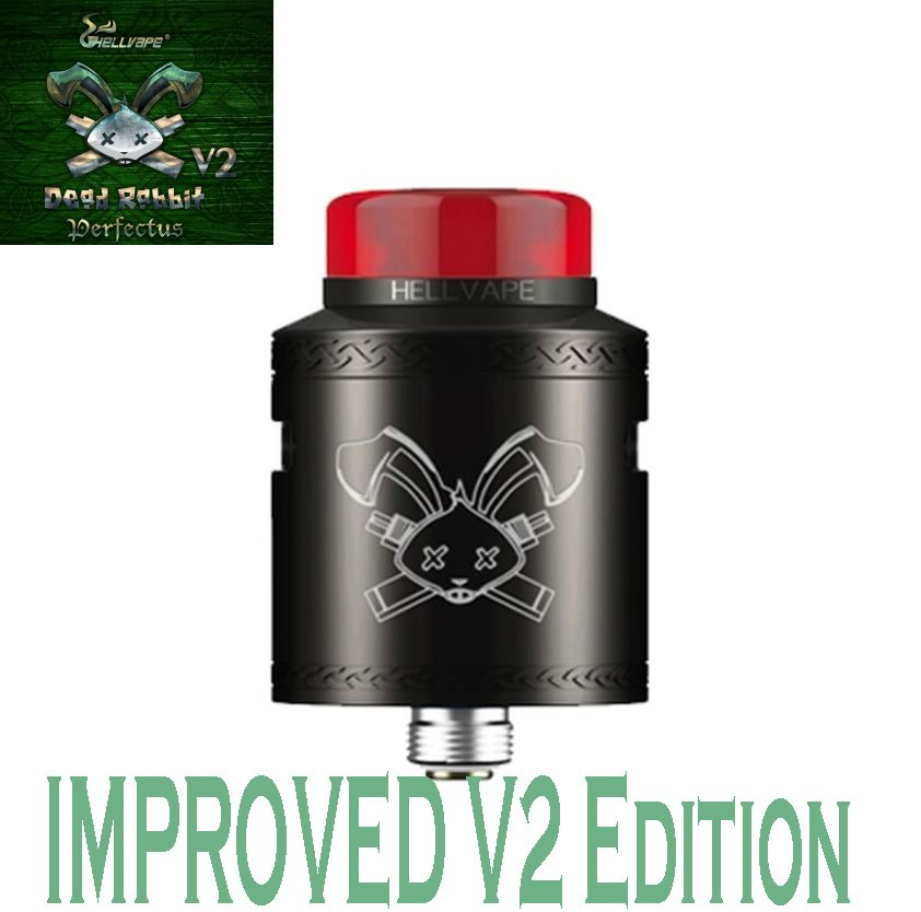 Hellvape Dead Rabbit V2 RDA - Black