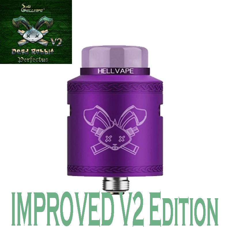 Hellvape Dead Rabbit V2 RDA - Purple