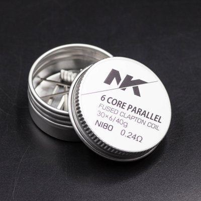6 Core Parallel Fused Clapton Coil