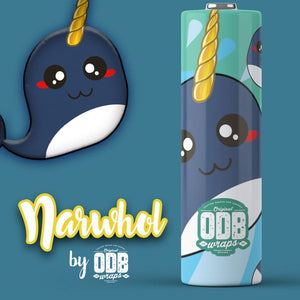 ODB Battery Wrap - Narwhol - 18650