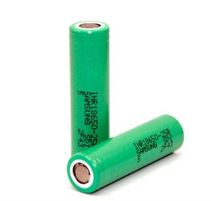 Samsung INR 18650 25R 2500mAh High Drain Battery