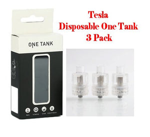 Tesla Disposable One Tank 3 Pack