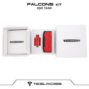 Tesla Falcons + One Tank  Kit - 2000mAh - Vape Starter Kit