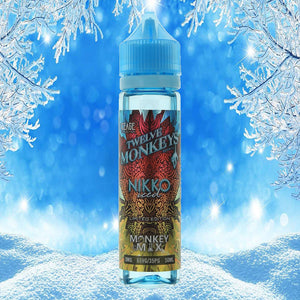 12 Monkeys - Ice Age Series - NIKKO ICE -  60ml
