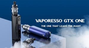 Vaporesso GTX One Kit - 2000mAh - 3ml - Black