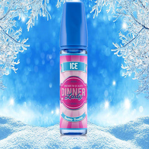 Dinner Lady - Tuck Shop ICE - BUBBLE TROUBLE -  60ml