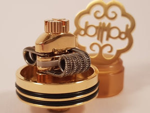 dotRDA 24mm Gold Logo Tsuka