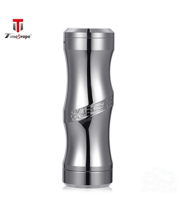 TIMESVAPE KEEN MECH MOD - BRUSHED STAINLESS STEEL